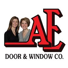 AE Door and Window logo