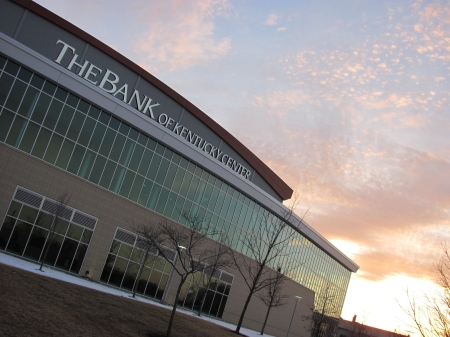 The Bank of Kentucky Center at Northern Kentucky University, flagship of The Bank of Kentucky, financial partner of OMEGA Processing Solutions.
