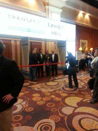 Exhibit Hall Ribbon Cutting