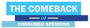 Comeback consumer spending image