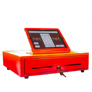 POS with cash drawer